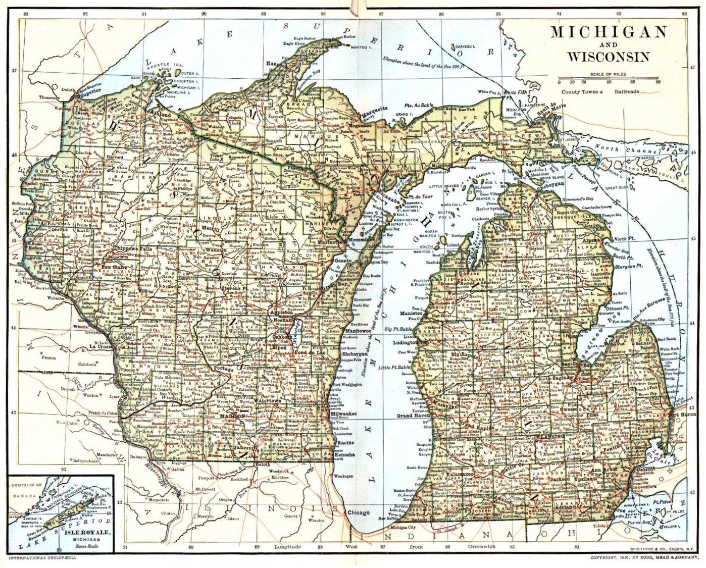 Wisconsin Maps & Gazetteers ~ WIGenWeb Project